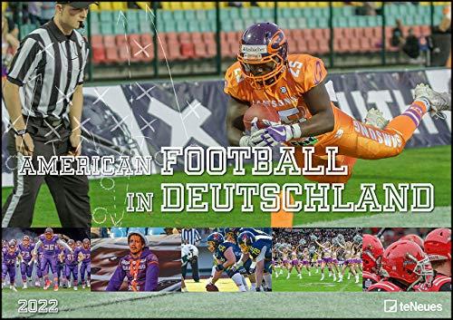 American Football in Deutschland 2022 - Foto-Kalender - Wand-Kalender - 42x29,7 - Sport