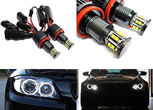 RZG Lot de 2 ampoules LED Angel Eye de phare DRL H8 120W Canbus pour voiture