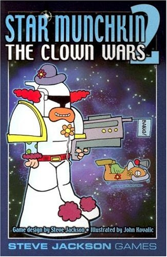 Steve Jackson Games Estrella Munchkin 2Payaso Wars