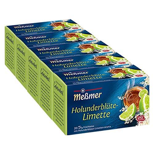 Meßmer Holunderblüte-Limette 5er Pack