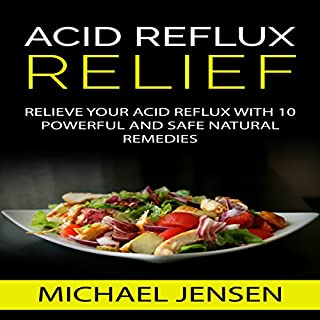 Acid Reflux Relief audiobook cover art