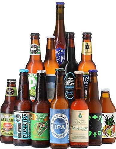 Assortiment India Pale Ale (IPA) - Pack de 12 bières (33 à 35,5 cl) - Idée cadeau
