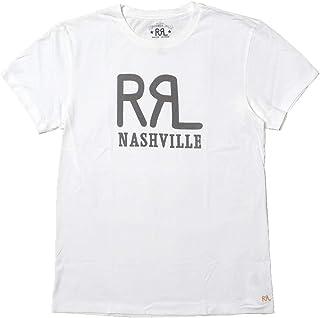 (ダブルアールエル) RRL LOGO CREWNECK TEE NASHVILLE ロゴTシャツ ナッシュビル店限定モデル [並行輸入品]