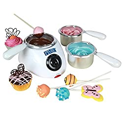 Electric Chocolate Melting Pot with 3 Pots Included