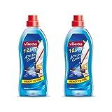 Vileda 1-2 Spray Lot de 2 nettoyants liquides pour pour Le Sol 750ML