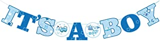 Autude It's A BOY Banner Welcome Boy Baby Shower Party Decoration