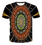 Summer Style Men 'ST -Camisa Color Geometric 3D Print Women' S/Men 'ST -Shirt Hip Hop Casual T -Shirt Top S -6XL