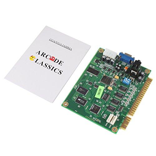 ExGizmo 60-in-1 Classic Game Vertical PCB Board for Jamma Wired Arcade Cabinet CGA VGA Output
