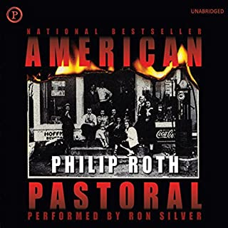 American Pastoral                   Written by:                                                                                                                                 Philip Roth                               Narrated by:                                                                                                                                 Ron Silver                      Length: 15 hrs and 27 mins     11 ratings     Overall 4.7