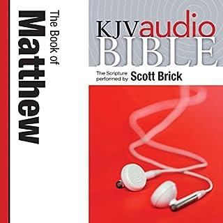 Pure Voice Audio Bible - King James Version, KJV: (27) Matthew audiobook cover art