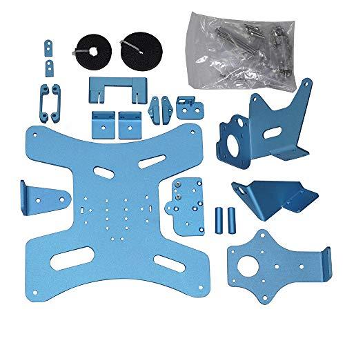 BLV Ender 3 Pro Kit de actualización de impresora 3D doble Driver Extrusora Tornillos de calor placa de cama también compatible con Ender 3 Pro V2, no incluye kit de rieles lineales MGN12