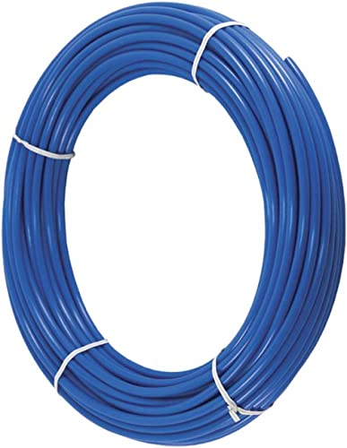 PureSec 2020 Blue 1/4 Inch RO Tubing Quarter inch PE Tubing NSF Certified CCK Tubing at 70°F-120PSI to 150°F-60PSI(15...