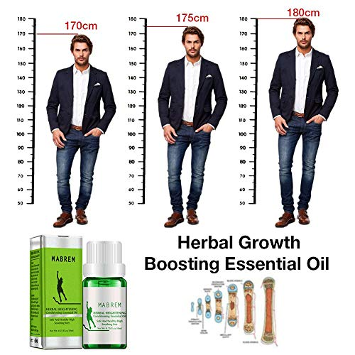 Huaqiang Herbal Heightening Growth Boosting Essential Oil - Moisturizing Promote Cell Division and Bone Growth, Make Your Higher, Soothing Feet Essential Oil