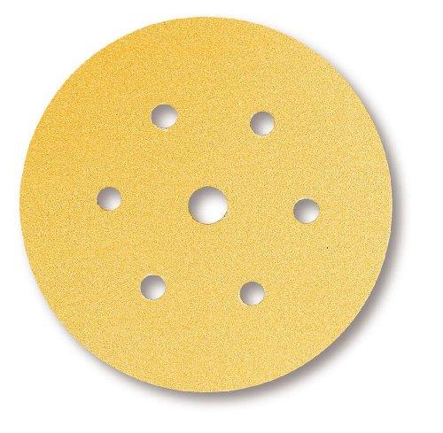 Mirka Gold 6+1-fach gelochte Scheiben GRIP P120 Ø 150 mm (100 Stk.)