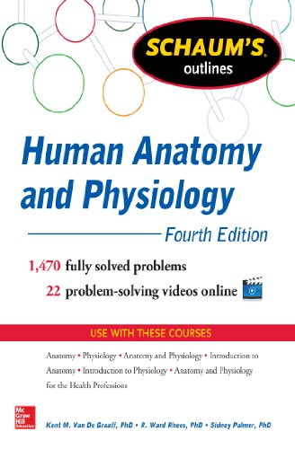Schaum's Outline of Human Anatomy and Physiology: 1,440 Solved Problems + 20 Videos (Schaum's Outlin
