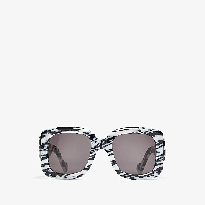 Balenciaga  BB0069S (White) Fashion Sunglasses