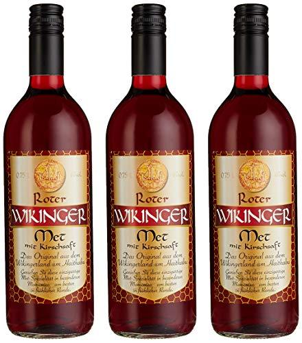 Roter Wikinger Met Honigwein mit Kirschsaft ( 3 x 0.75 l)
