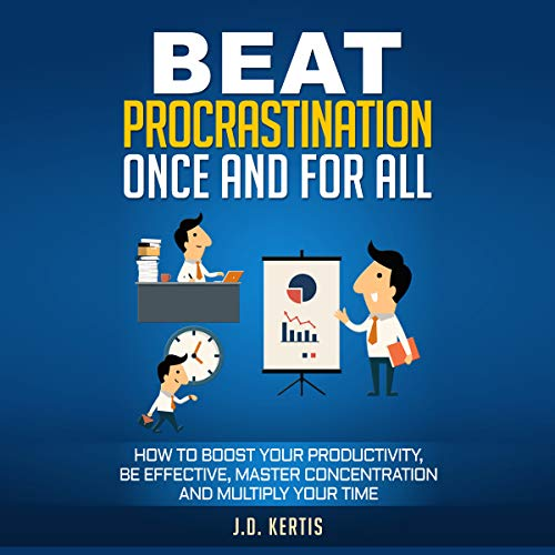 Beat Procrastination Once and for All audiobook cover art