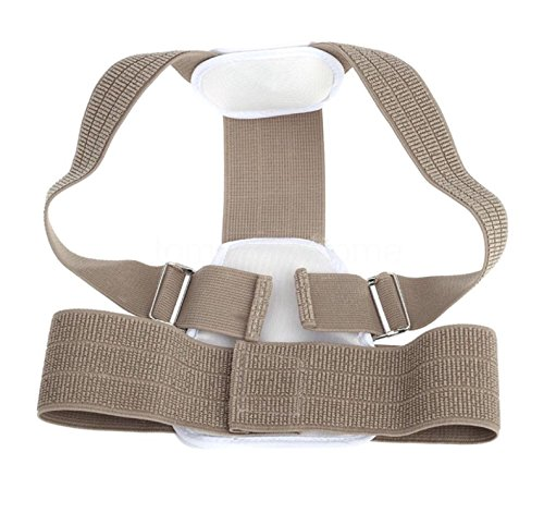 Beizi Posture Corrector Brace for Children, Teenagers & XS-S Adults (Color Beige)
