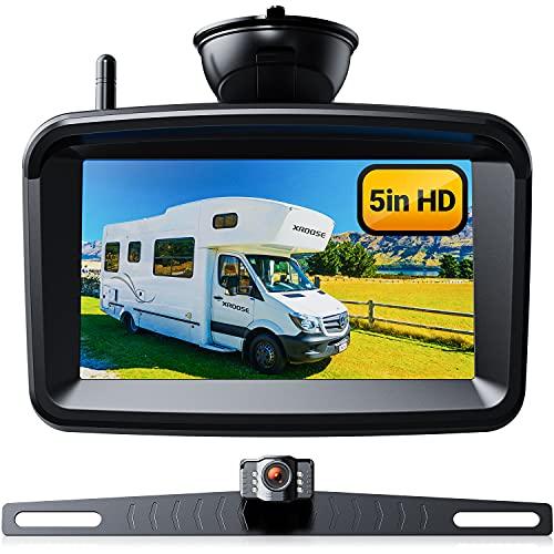 Wireless Backup Camera 5' Monitor, 720P HD License...
