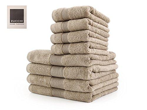 Zucchi Set Asciugamano 8 Pezzi Home Fashion VAR. Corda + tavoletta Profumo Biancheria per armadi by biancocasa