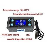 XY-WT01 - Regulador de temperatura digital LED para calefacción y refrigeración