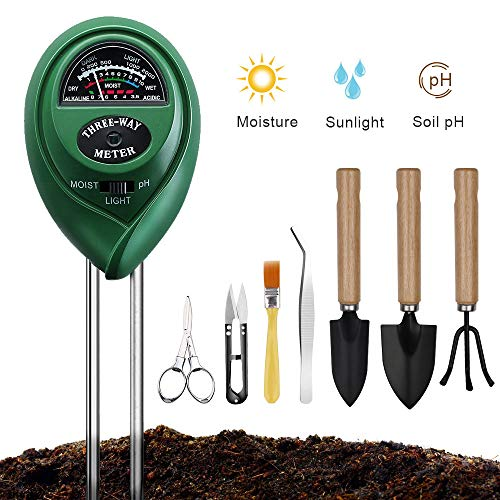 Why Should You Buy Soil Moisture Meter Sunlight Tester with Bonsai Tools, 3 in 1 Soil Test Kit for P...