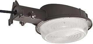 KCCCT LED Barn Light Area Light 35W 4200 Lumens Dusk to Dawn Yard Light with Photocell, Outdoor Security Light Arm,Daylight Flood Light,5000K DLC & DLC-Listed Yard Light for Area Lighting,Bronze
