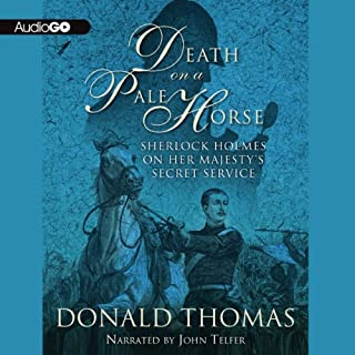 Death on a Pale Horse audiobook cover art