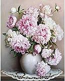 Rompecabezas Puzzle de Madera para Adultos 1000 Piezas de Pintura de Arte de Flores de peonía HUAHUA00