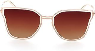 DESPADA ، صنع في إيطاليا القط العين الاستقطاب عدسة إطار معدني نظارات شمسية للسيدات Ds1552