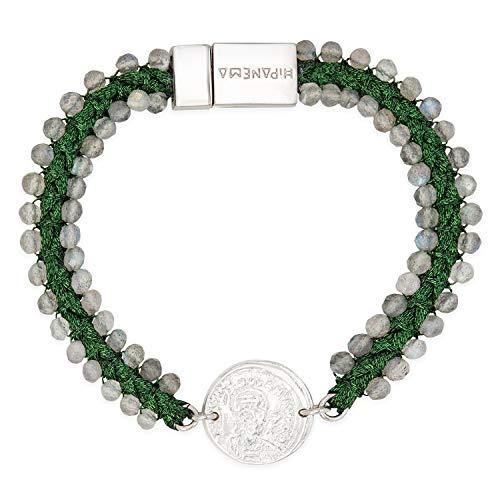 HIPANEMA Bracelet Conquistador Green M