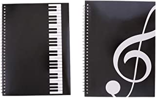 LuDa Musical Notation Staff Notes Book Music Manuscript Writing Paper