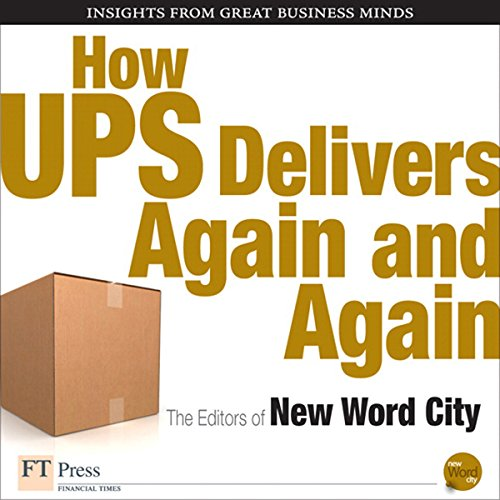 How UPS Delivers Again and Again audiobook cover art