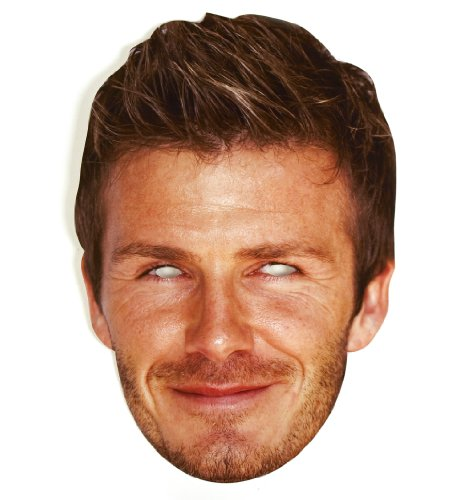 PARTYRama David Beckham Celebrity Cardboard Mask - Single