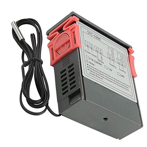 Controlador de temperatura Digital STC-1000 Microordenador Digital Display 12V Controlador de temperatura