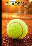 Cuardeno tenis: Diario de escritura para los entusiastas del tenis - amateur o profesional - passion tennis |...