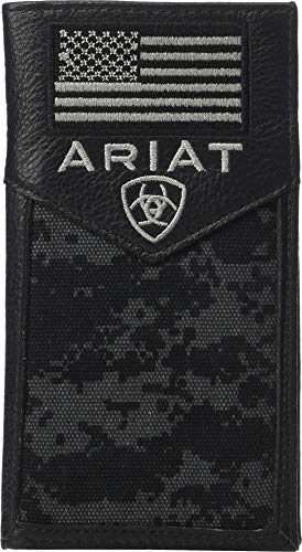Ariat Sport Patriot Rodeo Wallet Black One Size