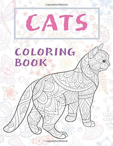 Cats - Coloring Book