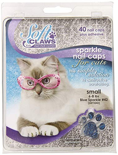 Feline Soft Claw Capuchons pour Ongles S Blu Sprk
