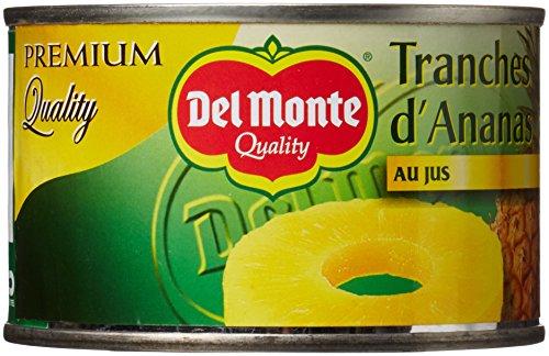 Del Monte Tranches dAnanas au Jus 3 Boîtes de 220 g