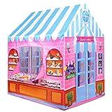 HHXXTTXS Kinderzelt Prinzessin Prinz Spielhaus Kinderspielhaus Indoor Outdoor Spielzeugzelte für...