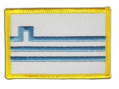 Aufnäher Patch Flagge Montenegro Podgorica - 8 x 6 cm