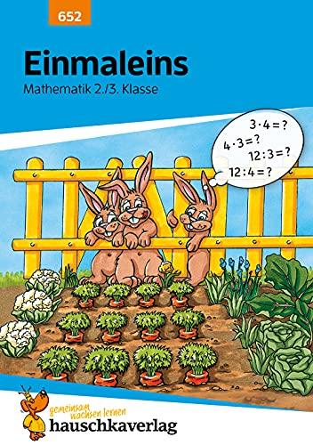 Einmaleins Mathematik 2./3. Klasse, A5- Heft (Mathe trainieren, Band 652)
