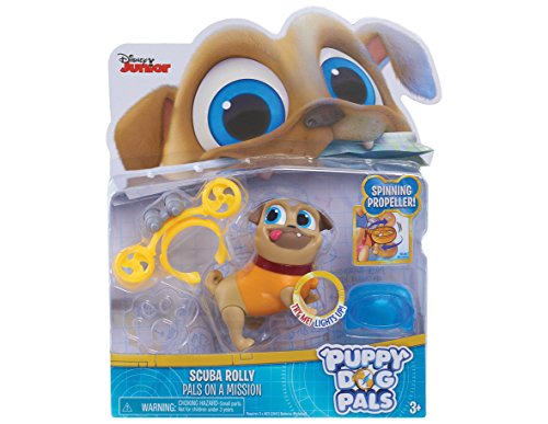 Puppy Dog Pals Light Up Pals - Rolly with Scuba