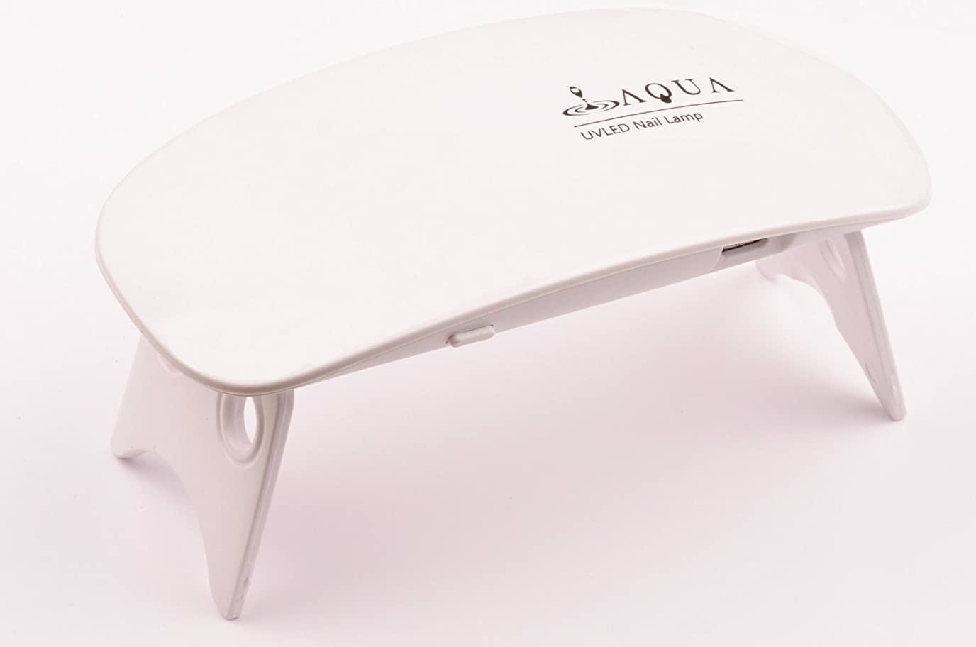 コックオセアニア専らLEDライト UVライト 6W 持ち運びに便利な軽量コンパクトサイズ (04.ホワイト)