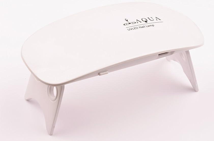 スロットピカリング新着LEDライト UVライト 6W 持ち運びに便利な軽量コンパクトサイズ (04.ホワイト)