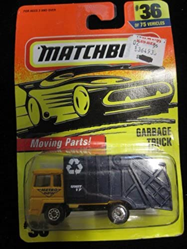 la mejor oferta de tienda online Garbage Truck (amarillo negro) Matchbox Super Fast Fast Fast Series  36 by Matchbox  mejor oferta
