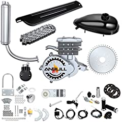 🚴 2-Stroke 80cc bicycle engine kit is perfect to upgrade the regular bike to a motorized bike,you can enjoying riding at a faster speed, which can reach 38km/h as fast as a motorcycle or scooter. (For installation video,pls contact with us via email)...