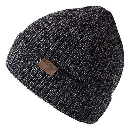Ziener Erwachsene ICONOCLAST hat Mütze / warm, gestrickt, schwarz (black), Einheitsgröße